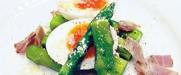 アスパラの温製サラダ