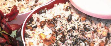 黒豆入り雑穀ご飯