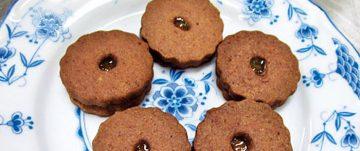 みかんのクッキー