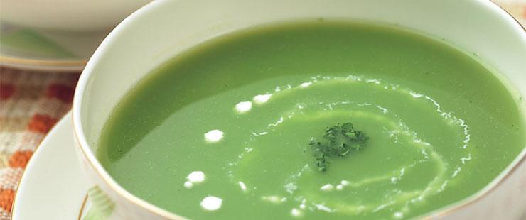 ブロッコリーのコーンスープ